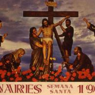 Cartel Semana Santa Linares 1977